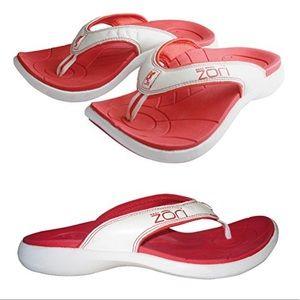 Zori Heat Flip Flops Thong Sandals Shoes